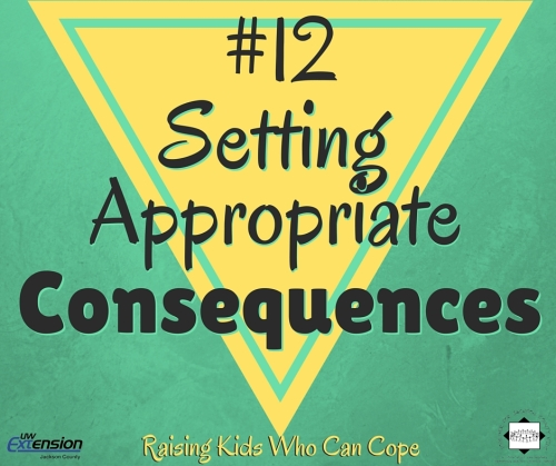 Setting Appropriate Consequences. Episode #12 - Raising Kids Who Can Cope