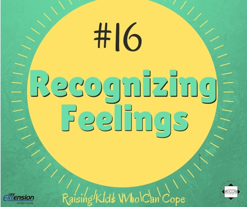 Recognizing Feelings. Episode #16 - Raising Kids Who Can Cope