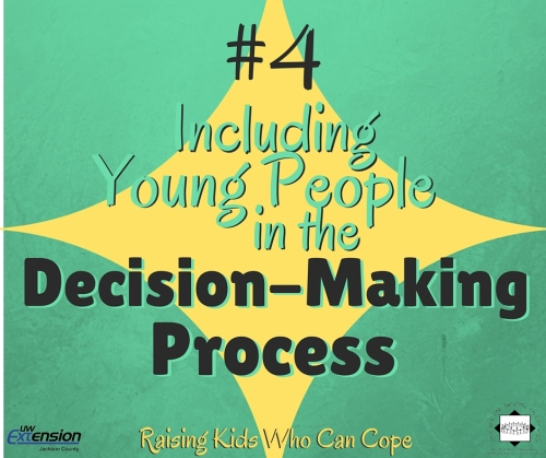 Including Young People in the Decision-Making Process. Episode #4 - Raising Kids Who Can Cope